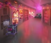 Xefros' hallway