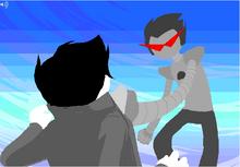 Jake vs Brobot