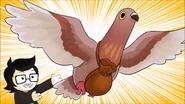 Frohike takes flight
