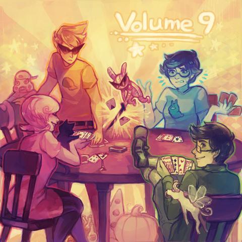 Archivo:Homestuck Vol. 9 Album cover.png