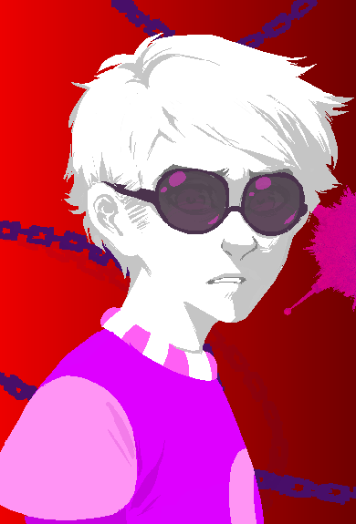 Image - Xamag Cascade Dave.png   MS Paint Adventures Wiki ...Dave And Rose Homestuck Cascade