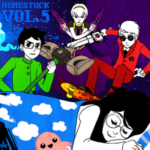 Homestuck Vol 5 Album cover