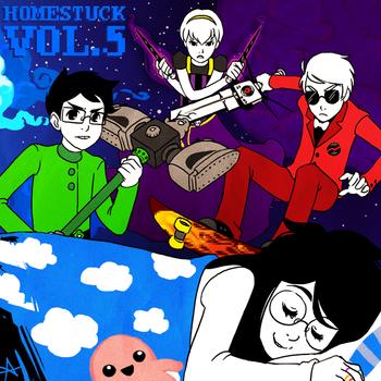 File:Homestuck Vol 5 Album cover.png