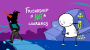 Tagora friendship is not a currency