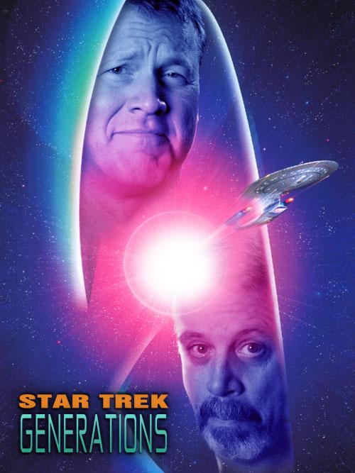 Star Trek Generations Movie Poster