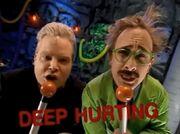 TV's Frank & Dr Forrester; DEEP HURTING!
