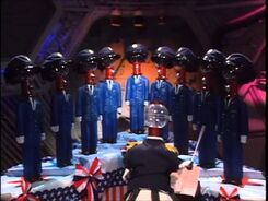 MST3k- Tom Servos chorus seen in The Starfighters