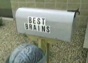 This is MST3k- Best Brains Inc Mailbox seen