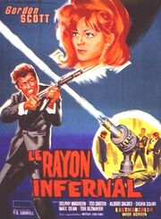 MST3k- Danger!! Death Ray theatrical release poster with Gordon Scott