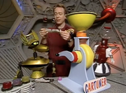 MST3k Manos- Joel and crew invention exchange is The Cartuner