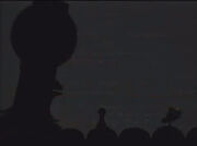 MST3k- Giant Servo in the theater during the end of FUTURE WAR