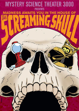 Mst3k screaming skull dvd