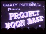 MST3K 109 - Project Moon Base