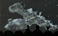 MST3k- Starship in Star Force Fugitive Alien II episode