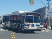 MTA Bus Company Orion VII hybrid blank front