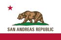 San Andreas Flag