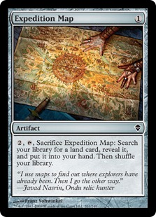 Expedition Map Magic The Gathering Wiki Fandom Powered By Wikia