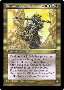 Dakkon Blackblade Leg-MEd