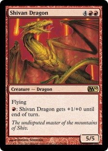 Shivan Dragon M10