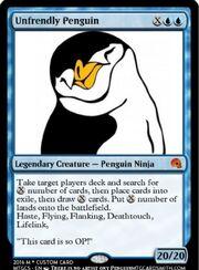 Unfreindly Penguin