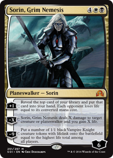 Sorin, Grim Nemesis SOI