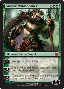 Garruk Wildspeaker DDD