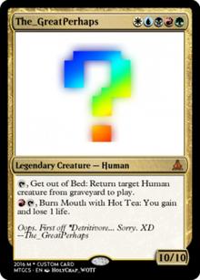 Profile Custom Card