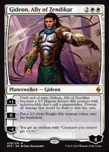 Gideon, Ally of Zendikar BFZ