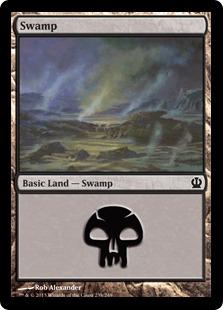 Swamp (Theros, 238)