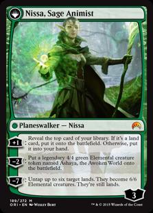 Nissa, Sage Animist ORI