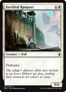 Fortified Rampart BFZ