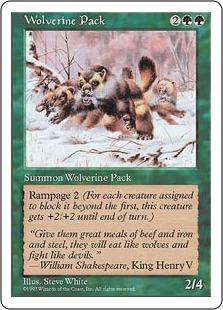 Wolverine Pack 5ED