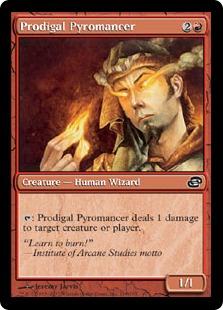 Prodigal Pyromancer PLC