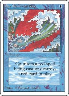 Blue Elemental Blast 2U