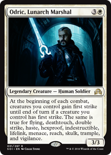 Odric, Lunarch Marshal SOI