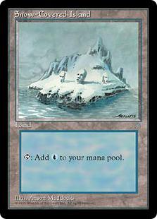 Snow-Covered Island IA