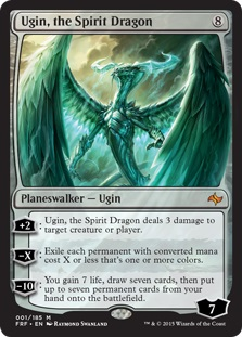Ugin The Spirit Dragon Magic The Gathering Wiki Fandom Powered