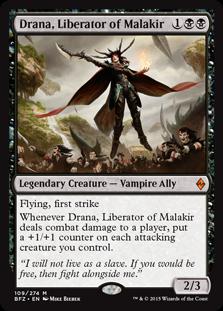 Drana, Liberator of Malakir BFZ