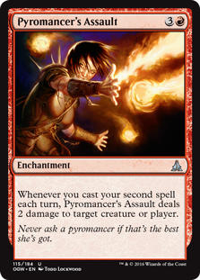 Pyromancer's Assault OGW