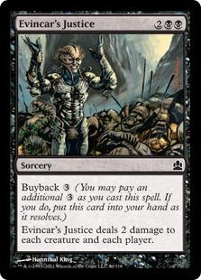 Evincar's Justice CMD