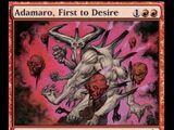 Adamaro, First to Desire