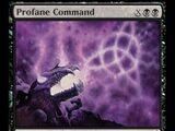 Profane Command