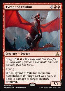 Tyrant of Valakut OGW