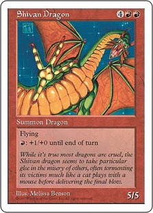 Shivan Dragon 5E