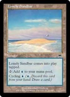 Lonely Sandbar ONS