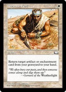 Argivian Find WTH