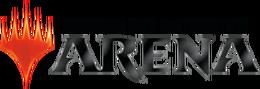 MTGA logo dark