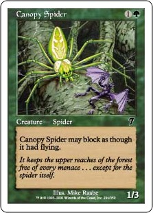 Canopy spider 7E & Canopy spider | Magic: The Gathering Wiki | FANDOM powered by Wikia