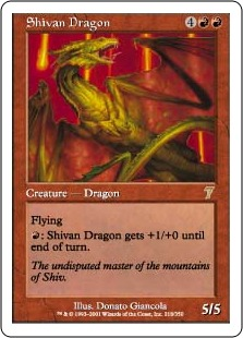 Shivan Dragon 7E
