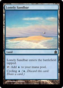 Lonely Sandbar CMD